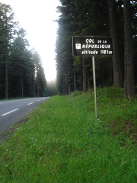 Image illustrative de l'article Col de la République
