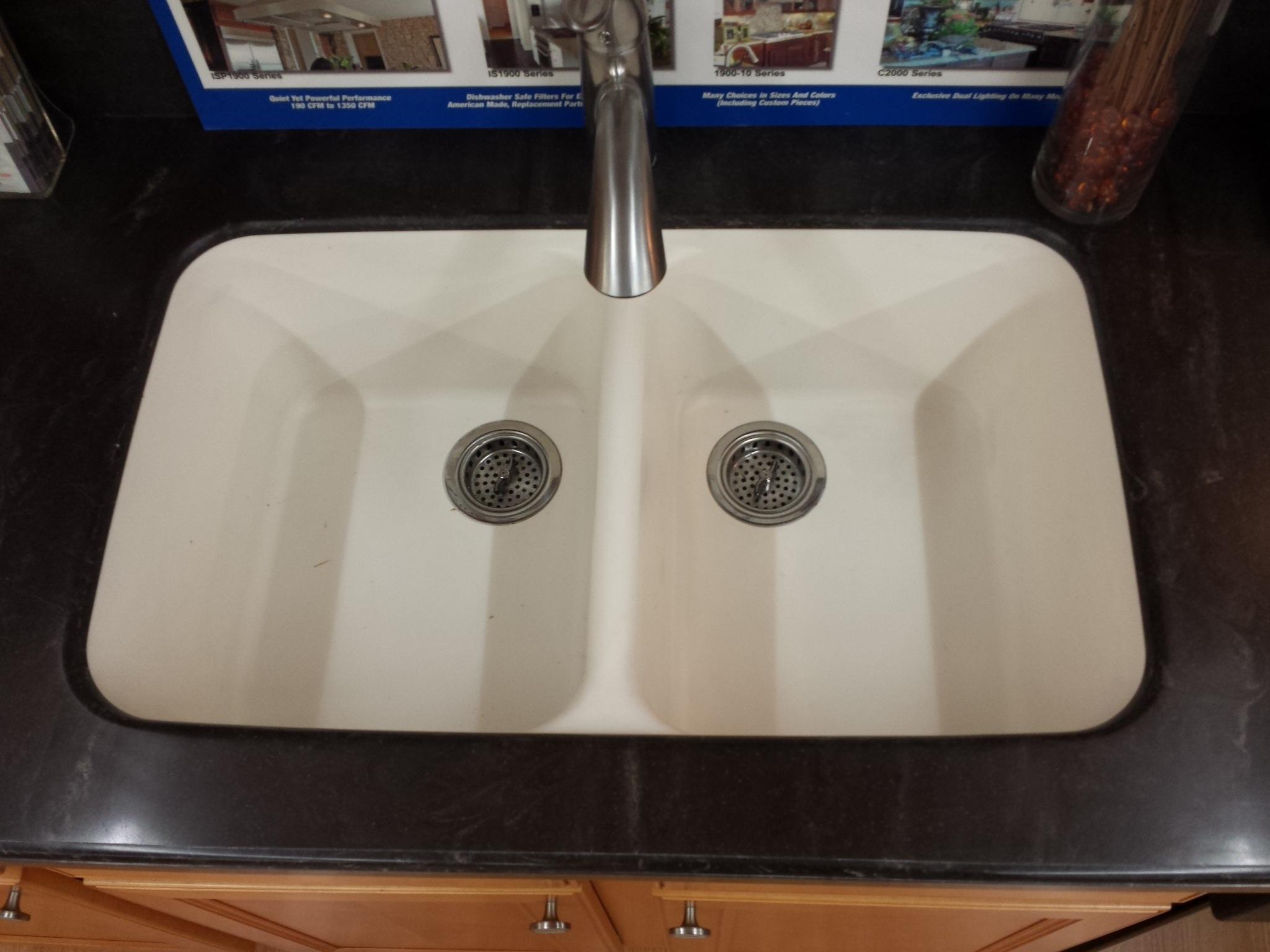 Acrylic Kitchen Sink  Hole