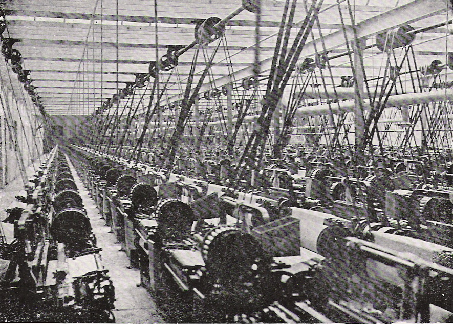 Textile mills in Lancashire