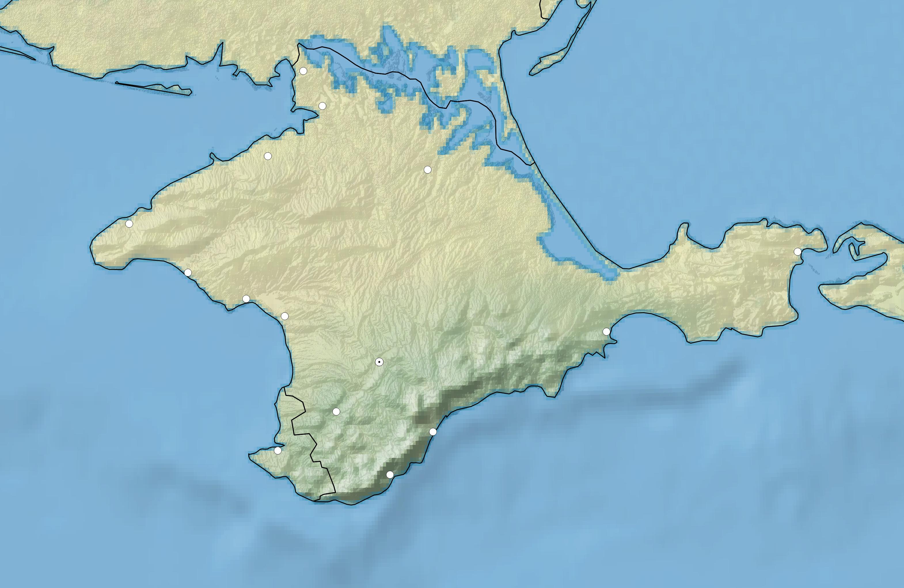 File:Crimea_topographic_blank_for_translationon Crimea Map