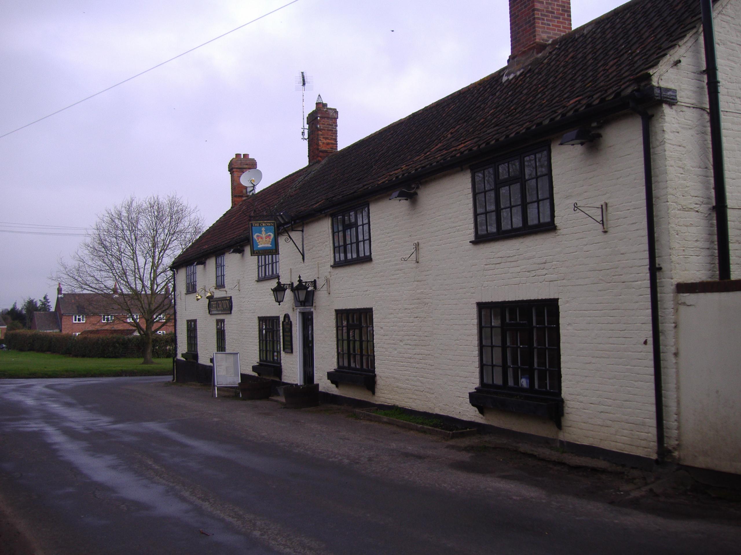 FileCrown public house Banningham Norfolk th March JPG