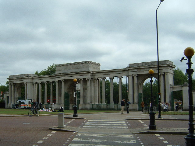 Hyde Park Monuments Screen at Hyde Park Corner
