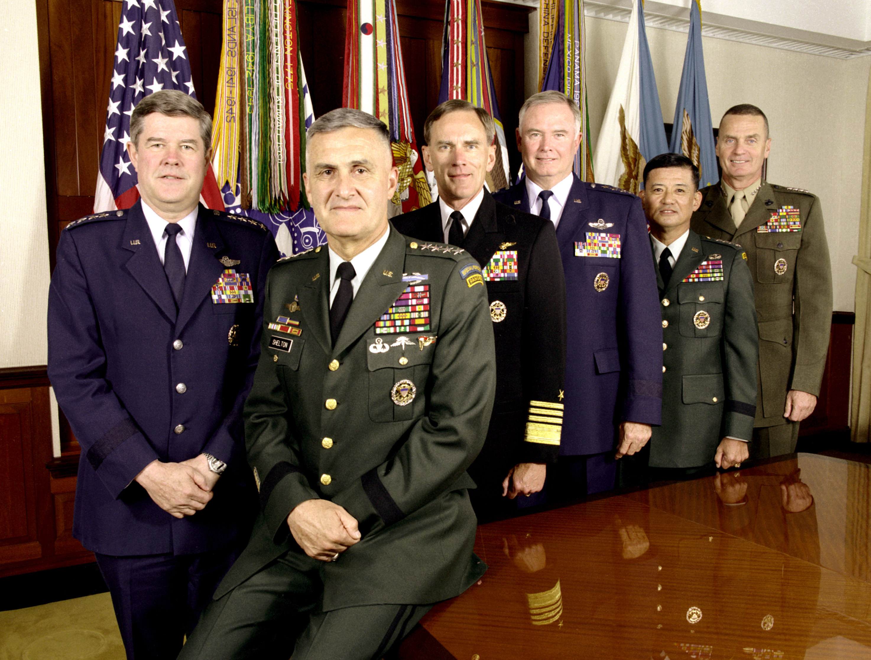 File news photo 990727 a 3569d for Chair joint chiefs of staff