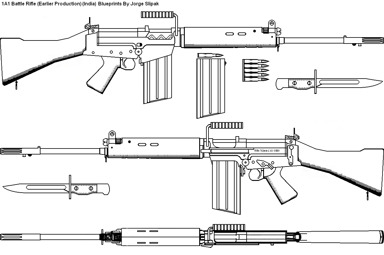 By Photo Congress || 7 62 Mm Slr Rifle Parts Diagram