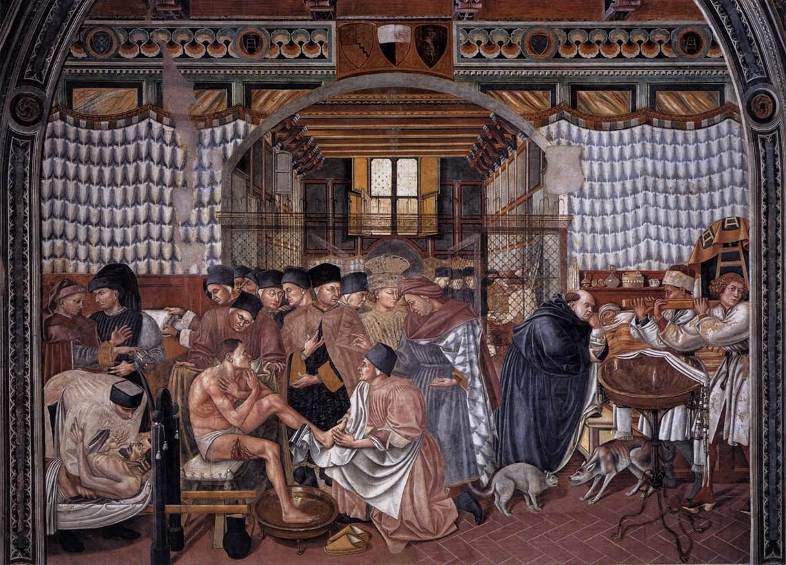 Image result for Spedale de Sta Maria della Scala siena