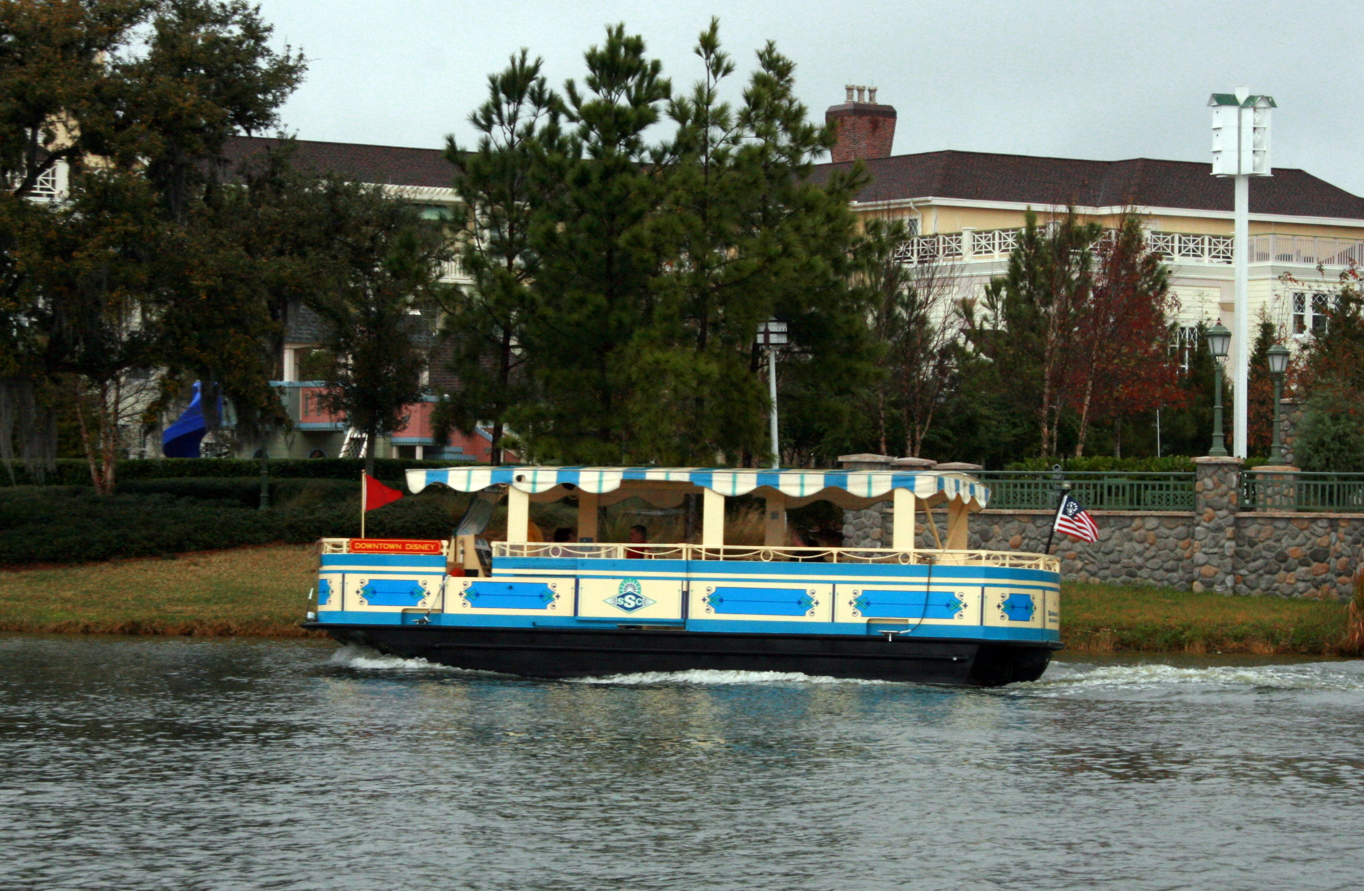 Downtown Disney Boat Tour