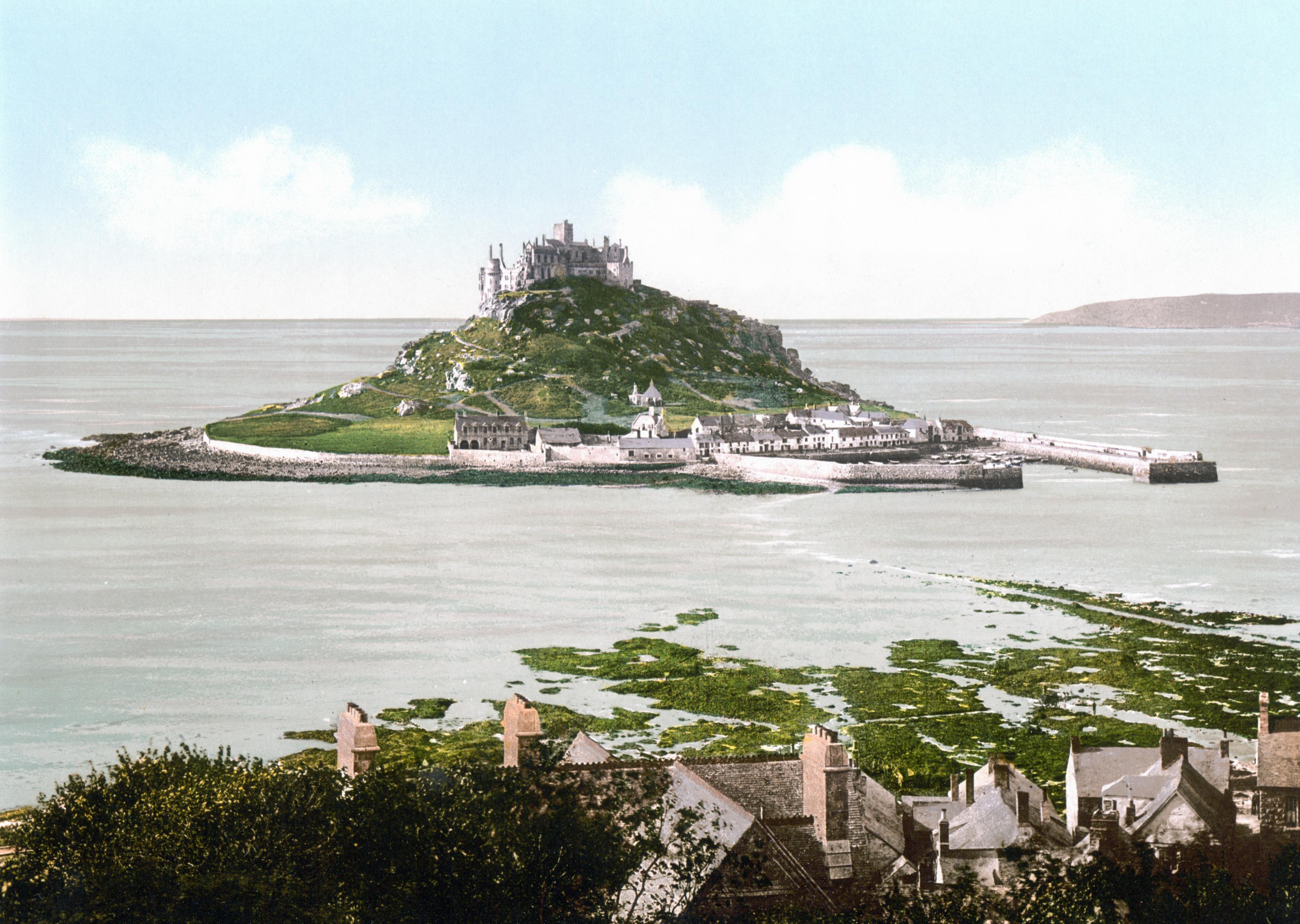 File England Saint Michaels Mount 1900 1 Jpg Wikipedia