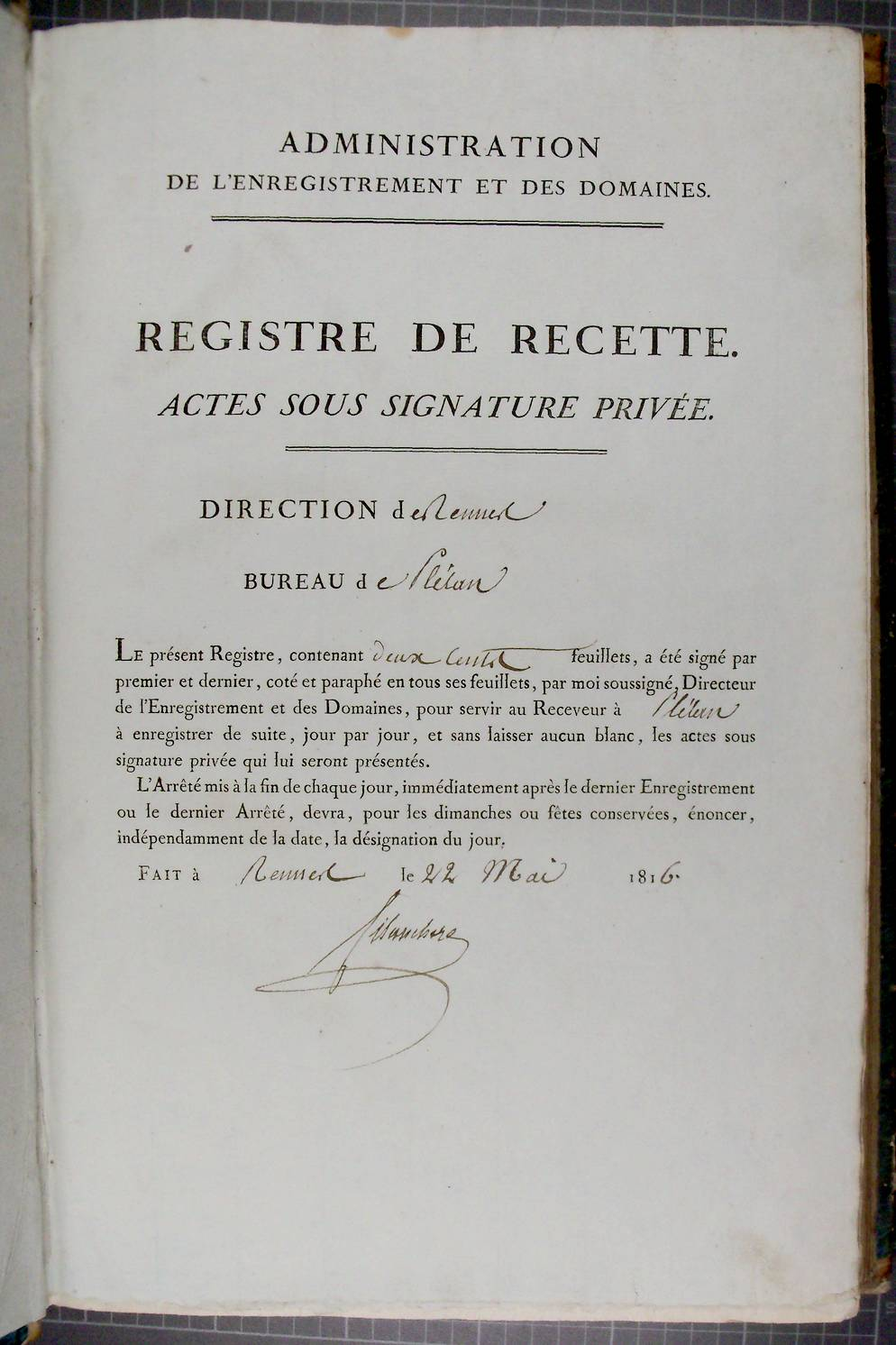 Acte Sous Signature Privee En France Wikipedia