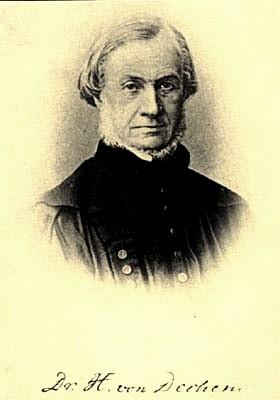 Ernst Heinrich Karl von Dechen