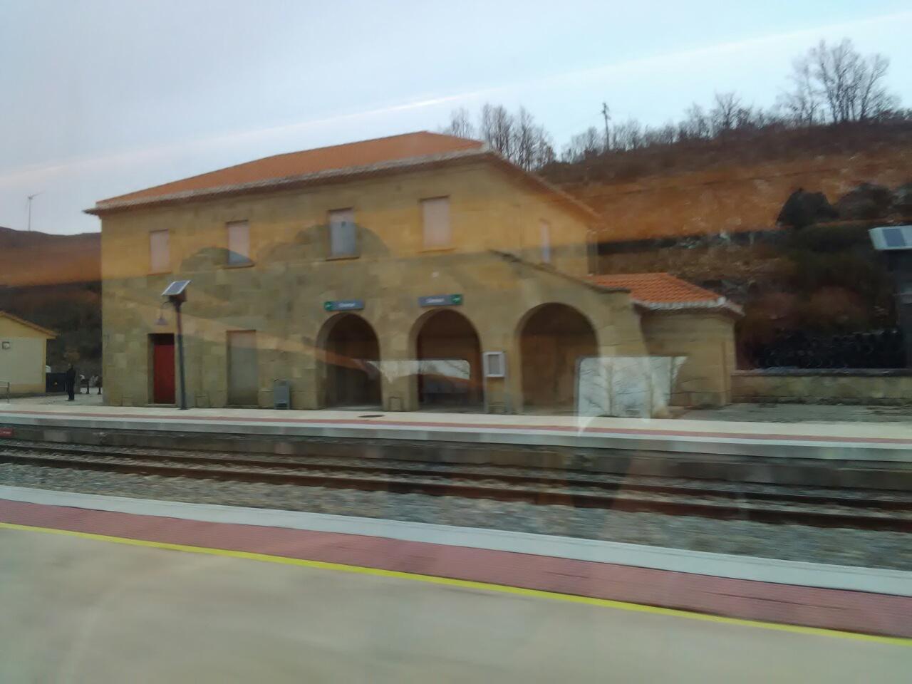 Estación de Lubián