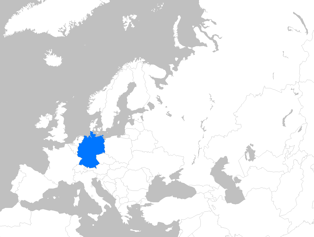 FileEurope map germanypng Wikimedia Commons – Germany in Europe Map