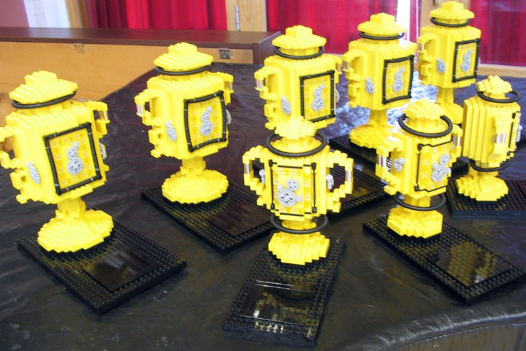 File:First Lego League 2005 Cambridge trophies.jpg - Wikimedia Commons