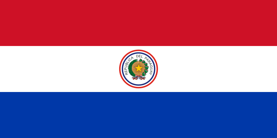 Flag of Paraguay 1954.png