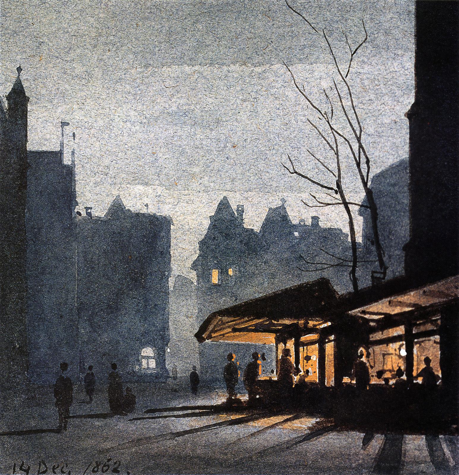 Weihnachtsmarkt Frankfurt Main.File Frankfurt Am Main Carl Theodor Reiffenstein 1822kk1993 012