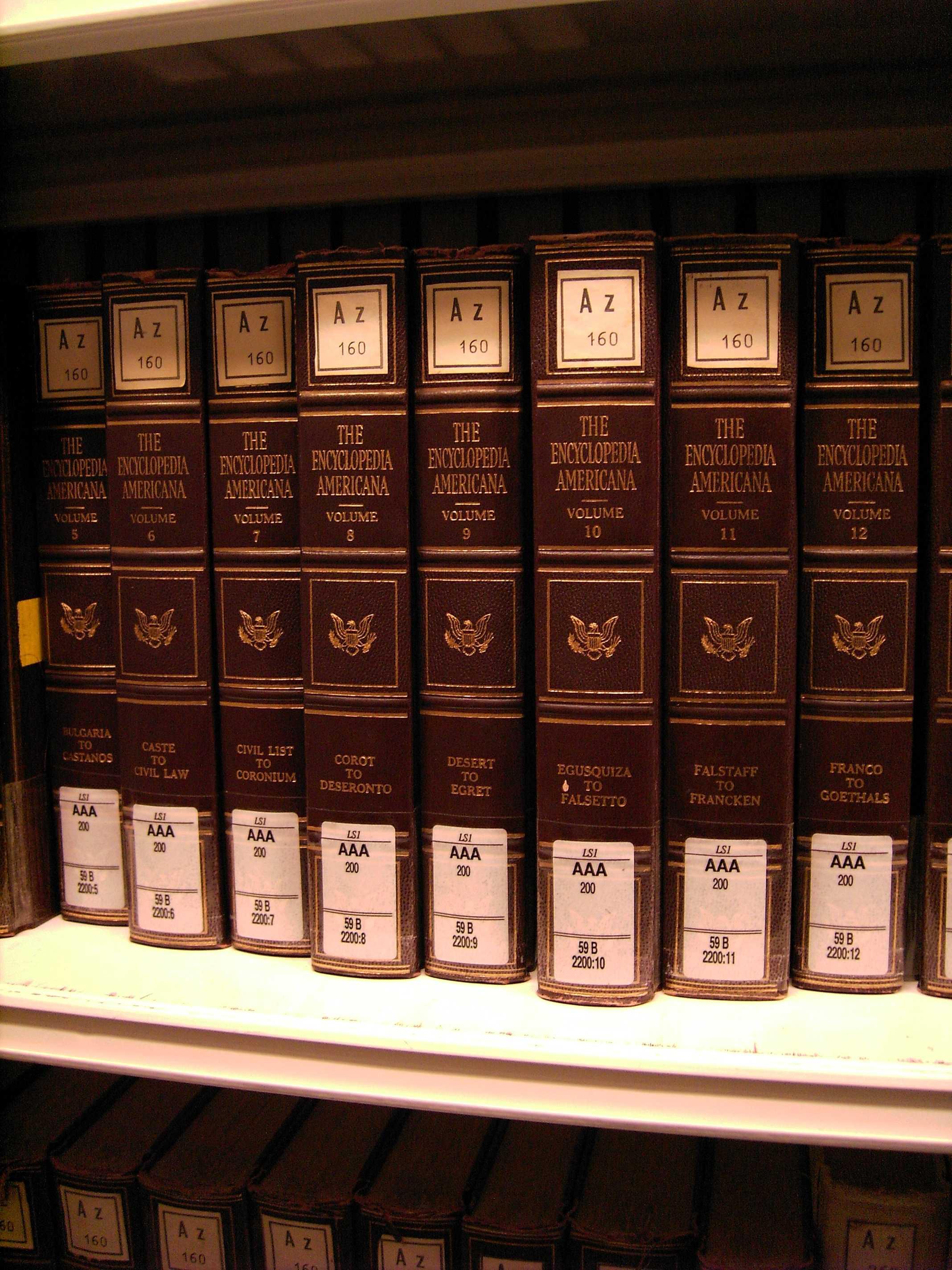 Old Encyclopaedias: Encyclopedia Americana