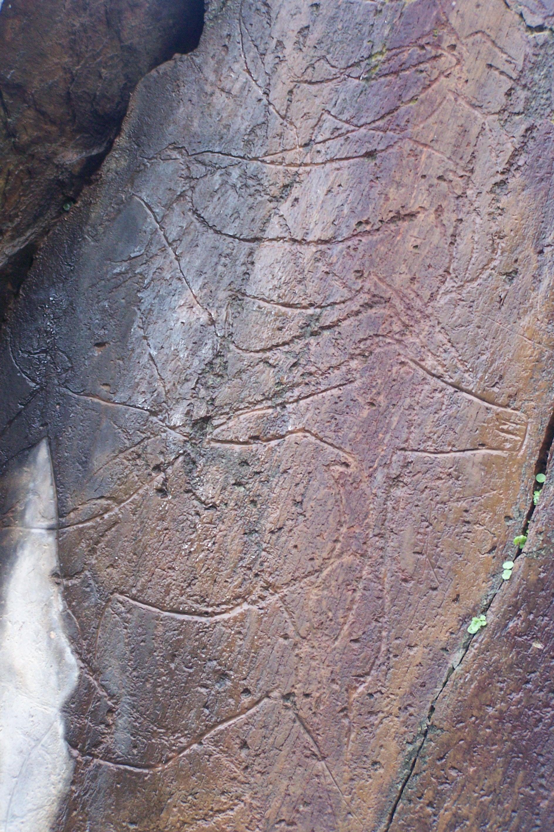 Rock art datant