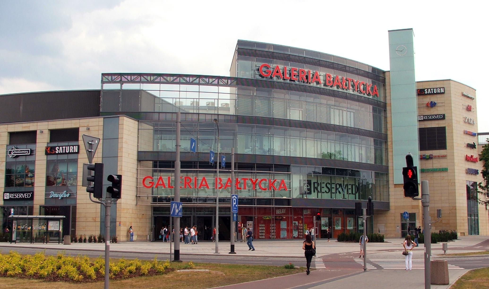 Afbeeldingsresultaat voor galeria bałtycka gdańsk