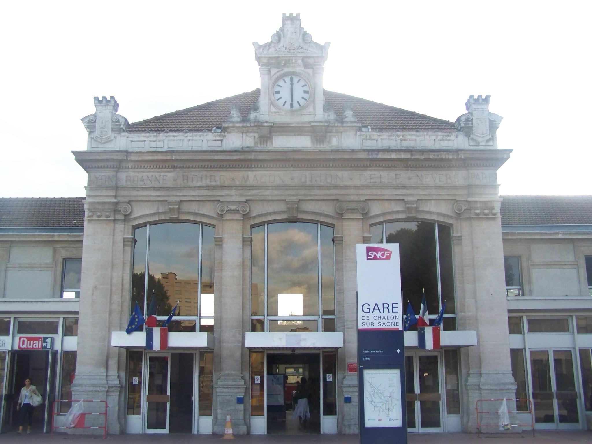 Gare de chalon sur sa ne wikiwand - Chambre de commerce chalon sur saone ...