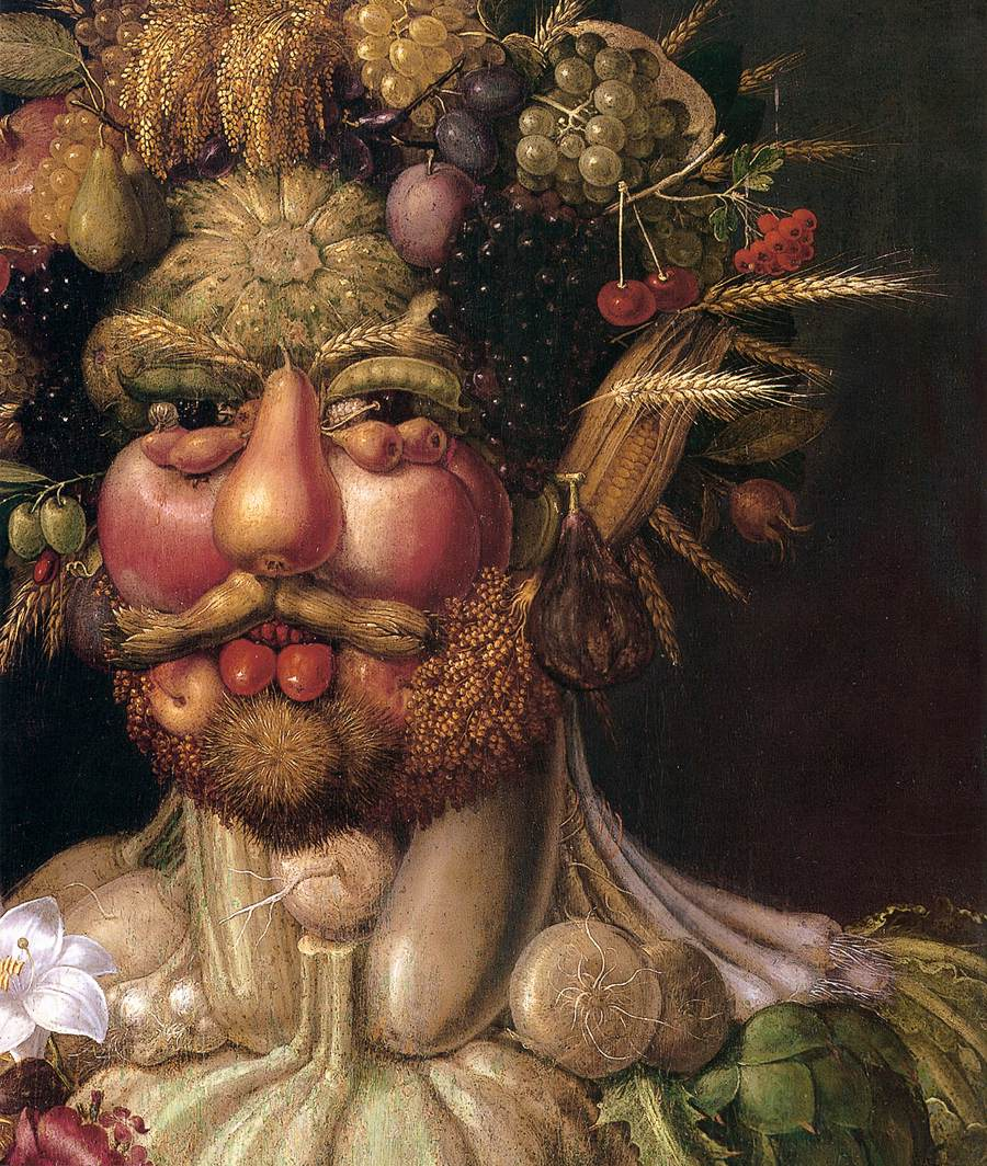 Fruit Face Painting Italian