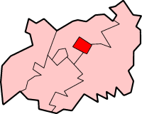 Borough di Cheltenham – Mappa