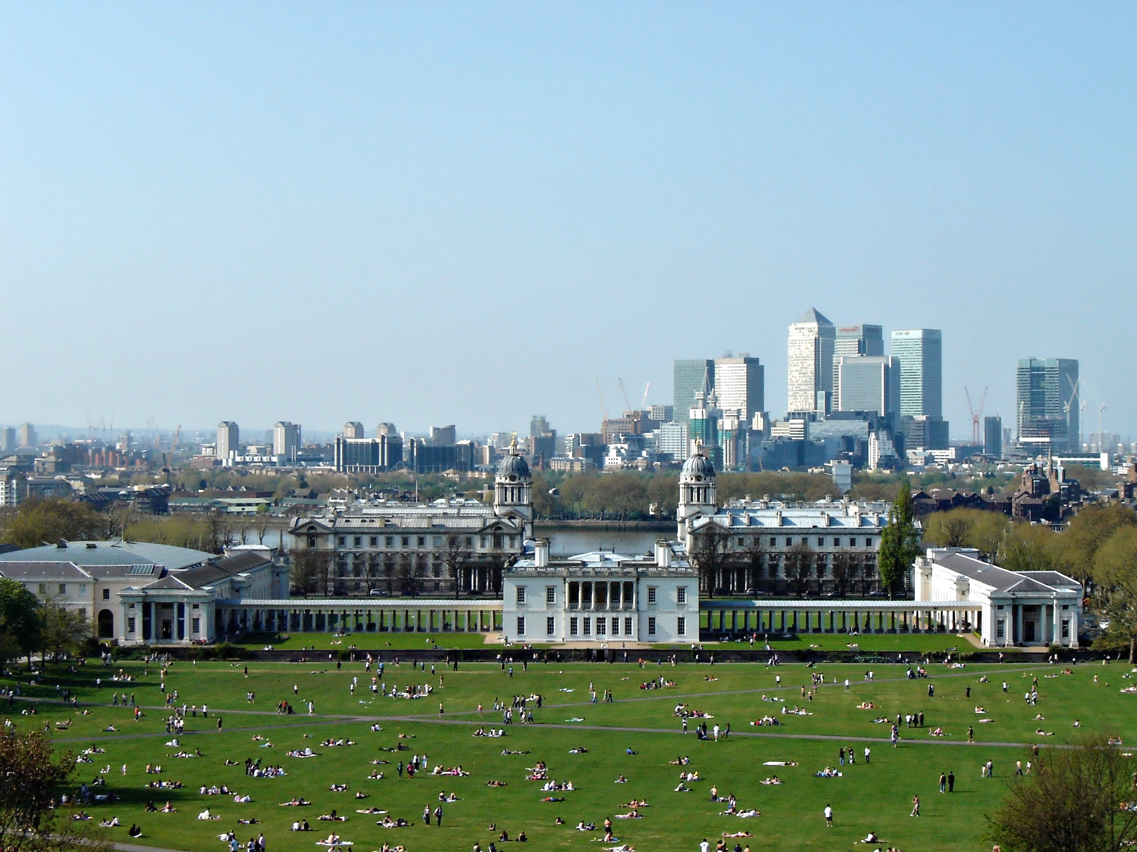 Greenwich Park To Manjal Restaurant Canary Wharf