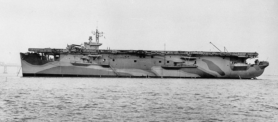 uss attacker San Francisco 1942