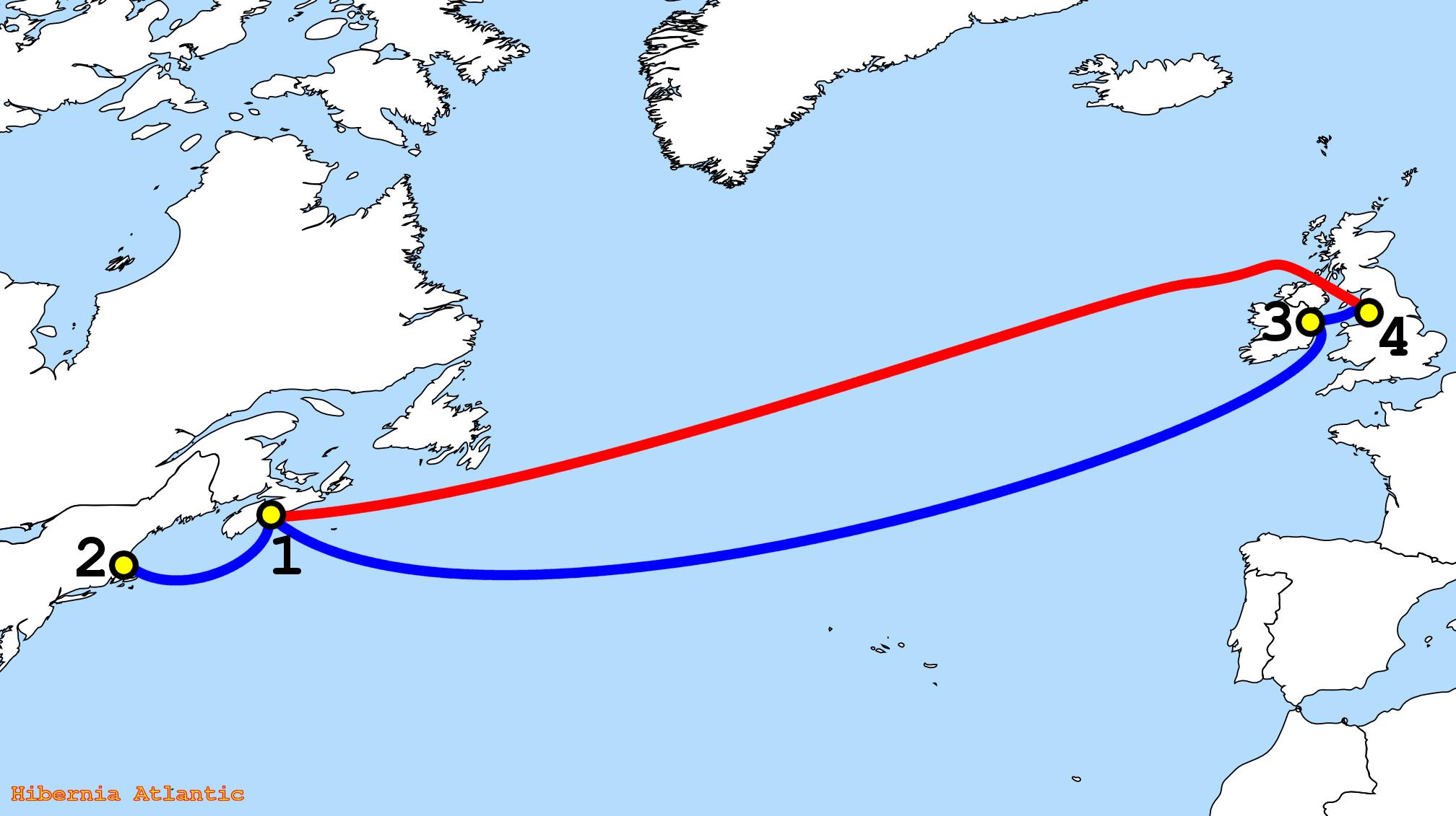 Map Of Ireland To New York.Ireland To New York Map