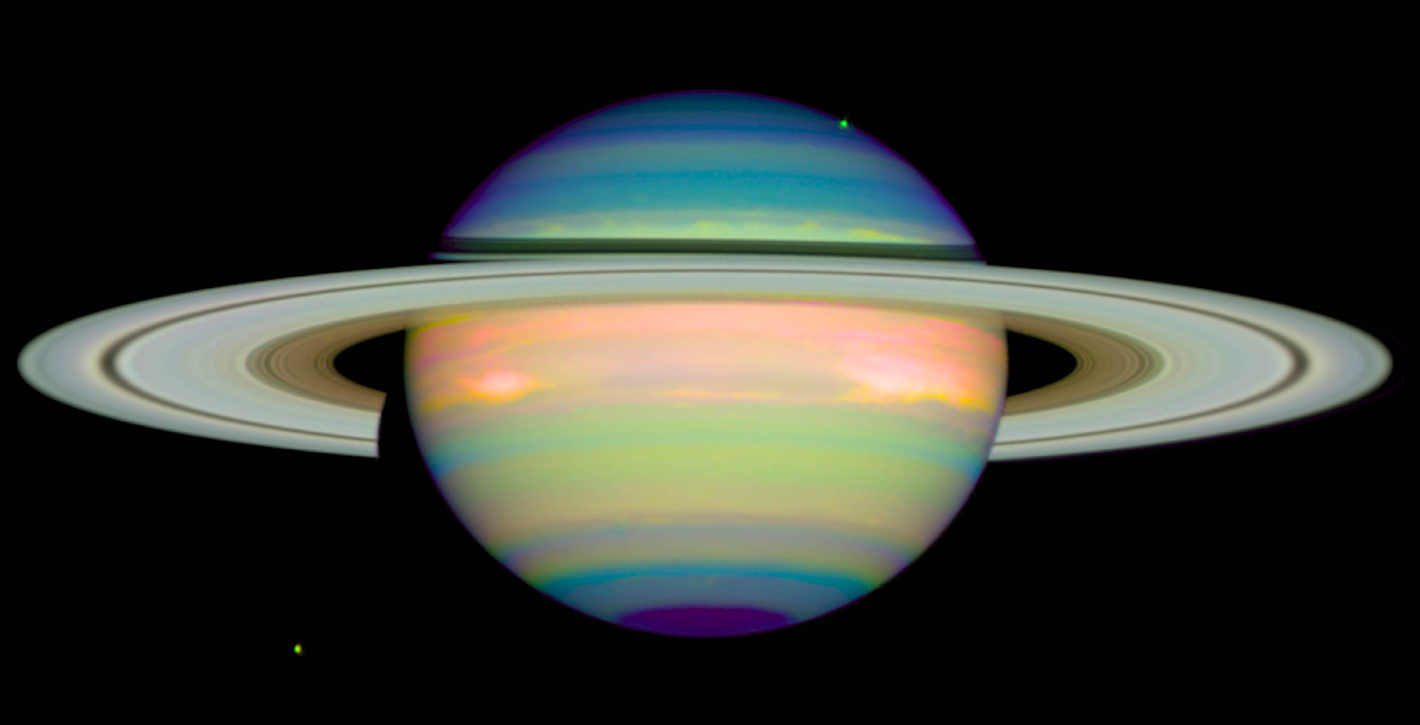 hubble images of saturn -#main