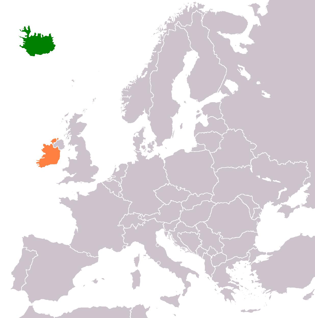 Iceland–Ireland relations - Wikipedia