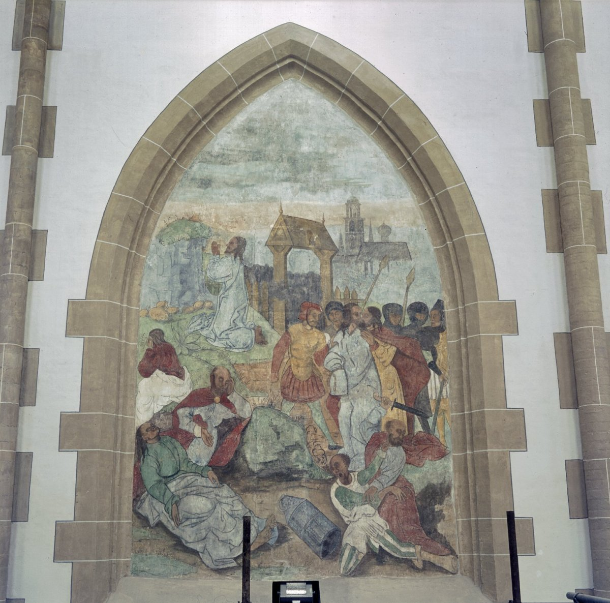 File interieur koor schildering nis met afbeelding uit for Interieur 607
