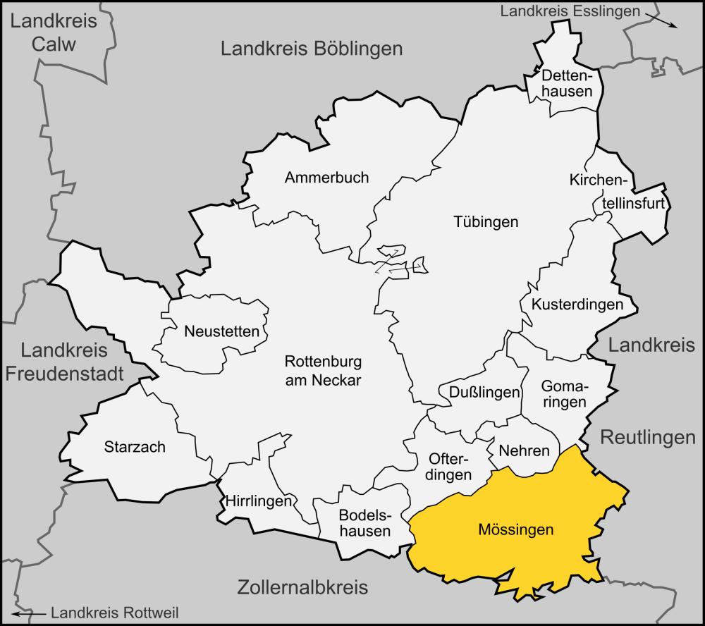Mössingen, Deutschland