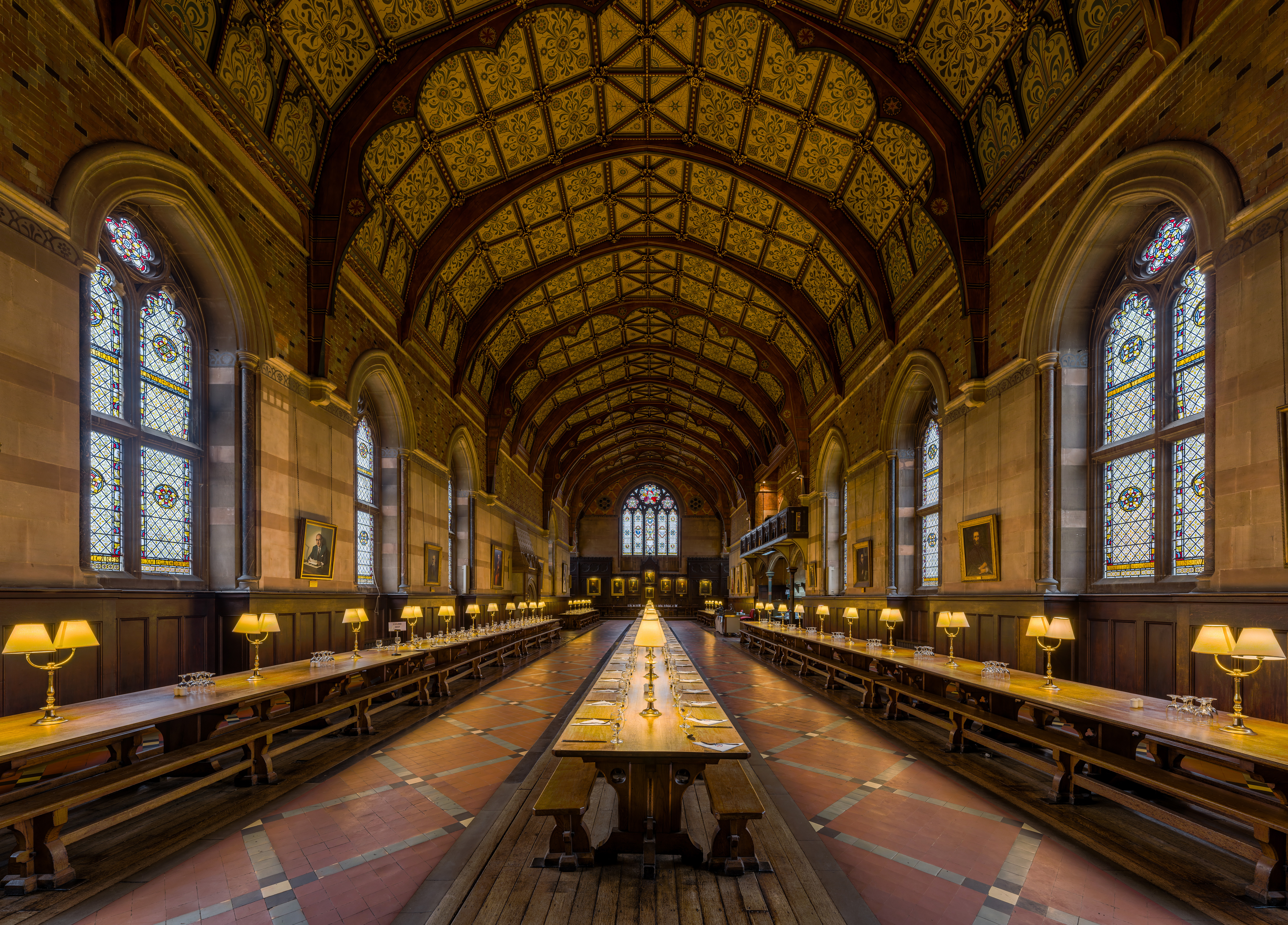 File:Keble College Dining Hall 2, Oxford, UK - Diliff.jpg