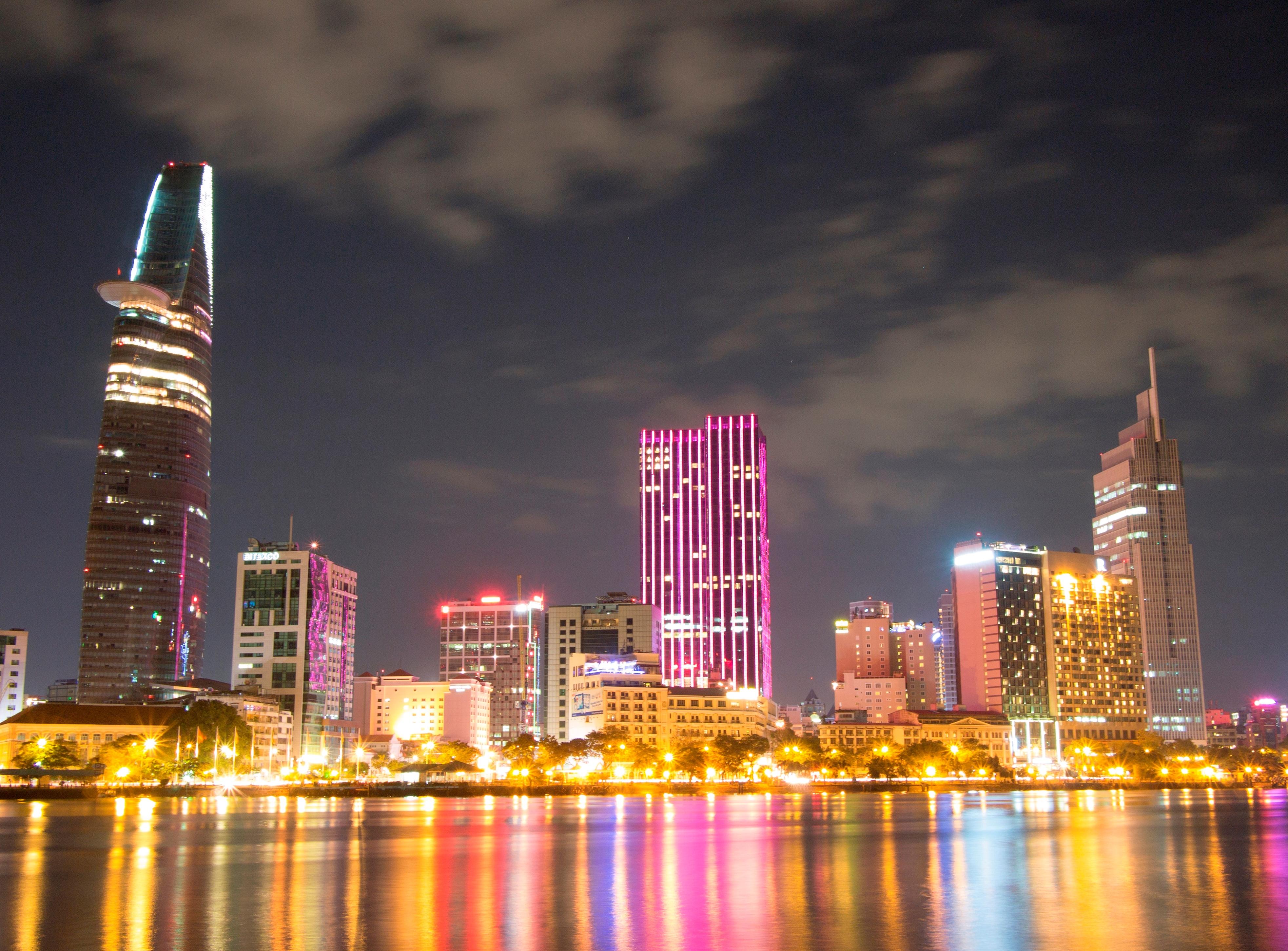Depiction of Ciudad Ho Chi Minh