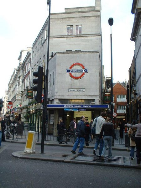 Leicester Square tube ...