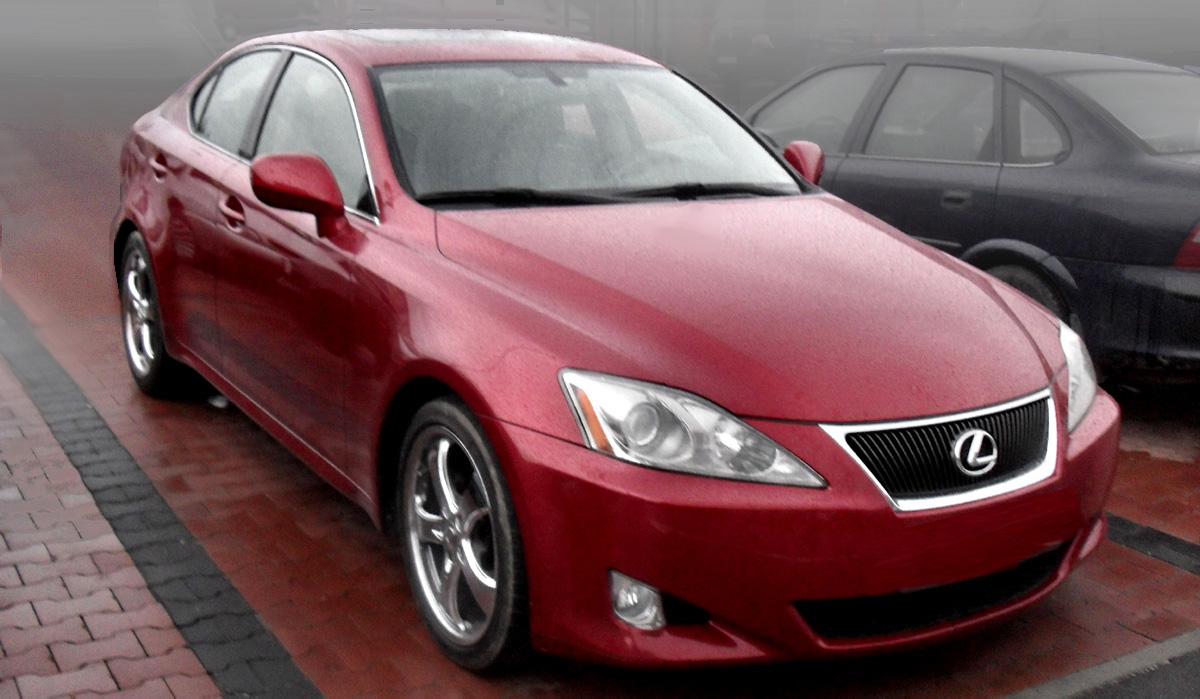 Lexus Is 250 2007 For Sale File Lexus Is250 With X Package Red Jpg Wikimedia Commons File 2007