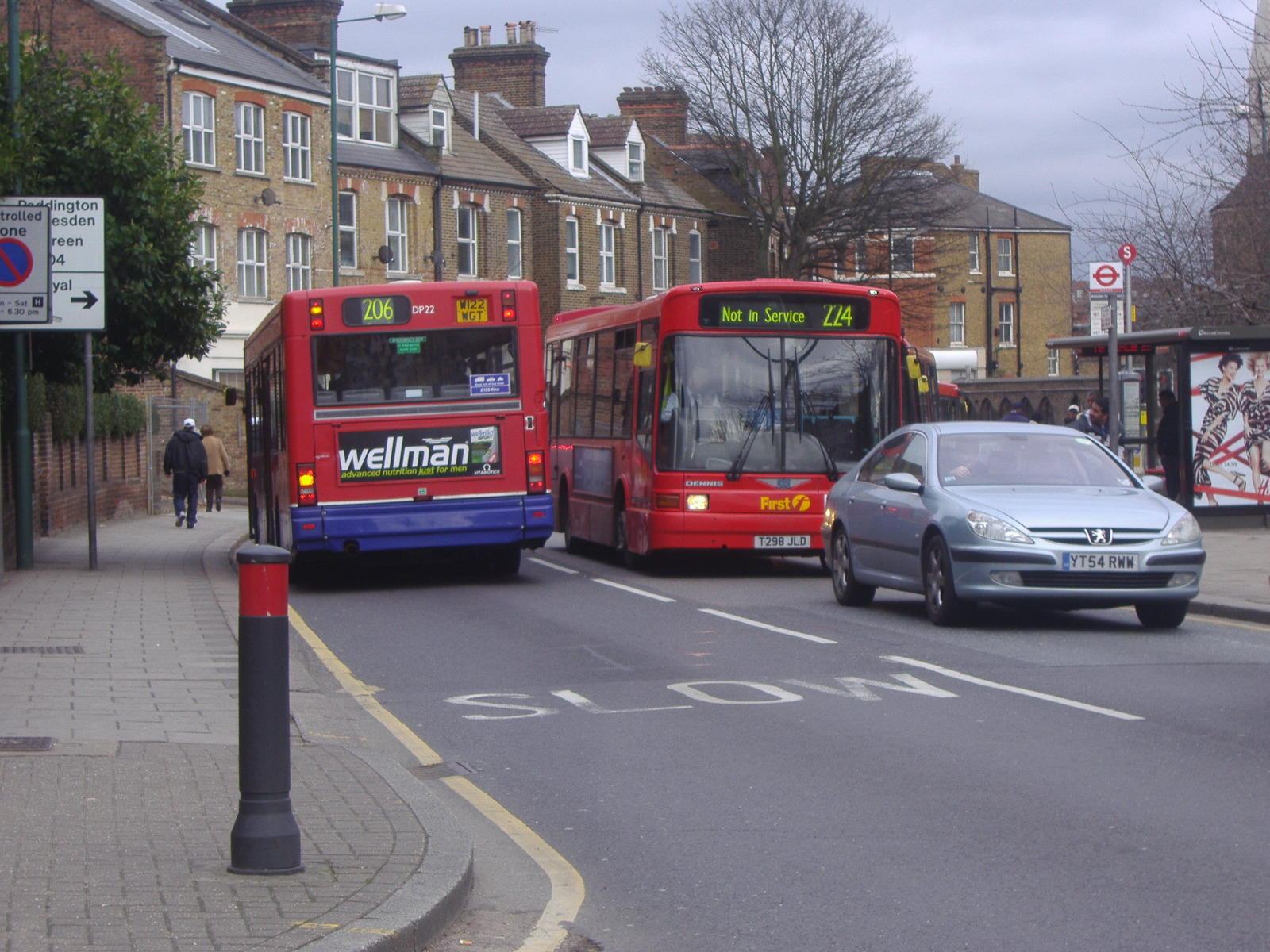 file:london buses route 224 and 206 acton lane - wikimedia commons