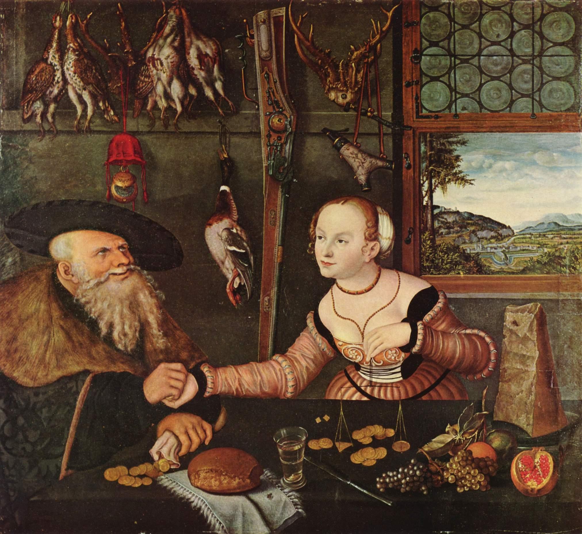 Ä. - Die Bezahlung (1532, Nationalmuseum Stockholm