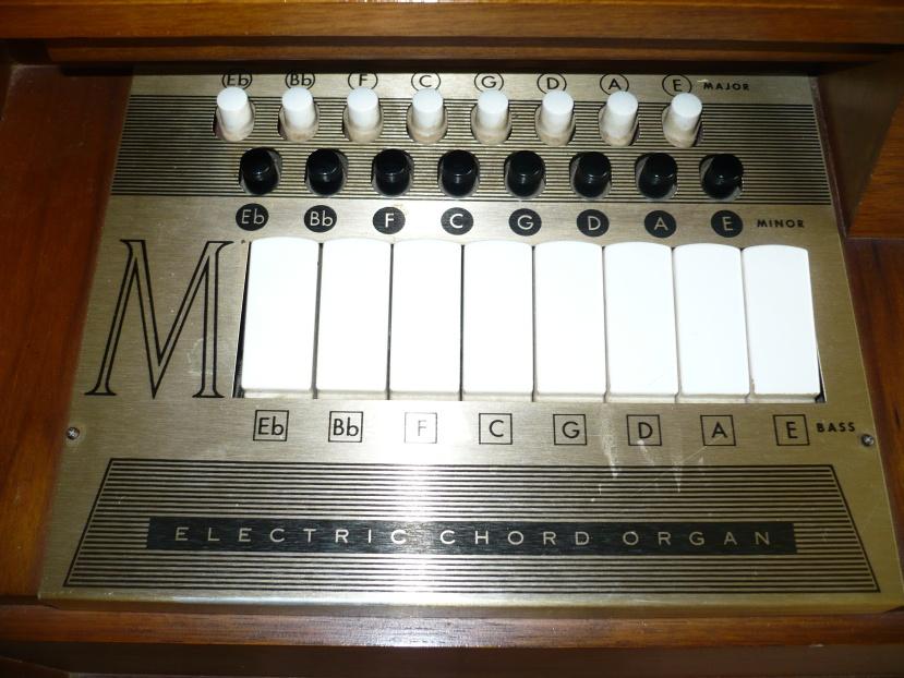 Piano Chord Charts Free: Magnus 890 electric chord organ chord pad detail.JPG ,Chart