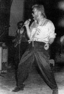 Manal Javi en 1987.