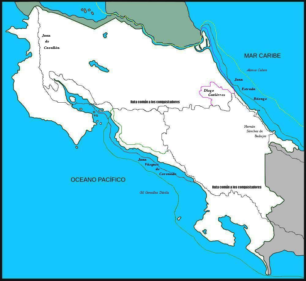Mapa De Costa Rica.File Mapa De Costa Rica Ruta De Los Conquistadores Jpg
