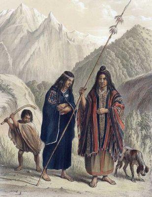 Archivo:Mapuche telas y juegos.jpg