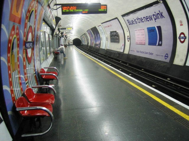 Marble Arch station, W1 - geograph.org.uk - 831396