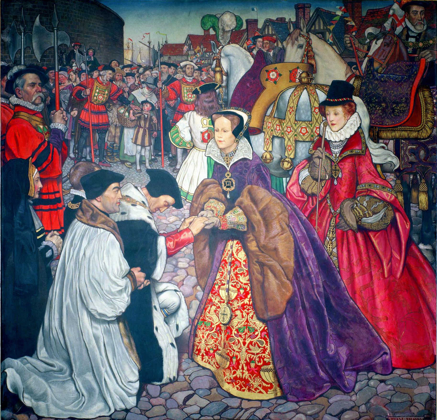 Soubor:Mary I. Entry Into London.jpg