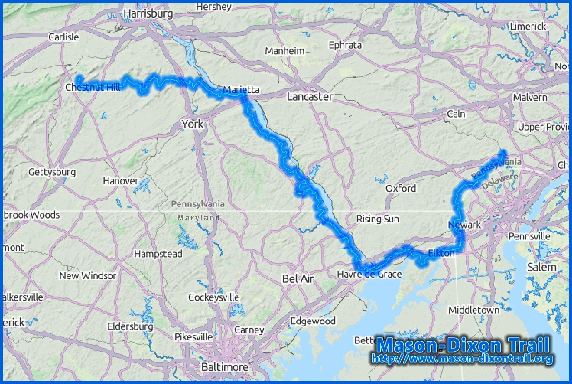 file mason dixon trail map jpg