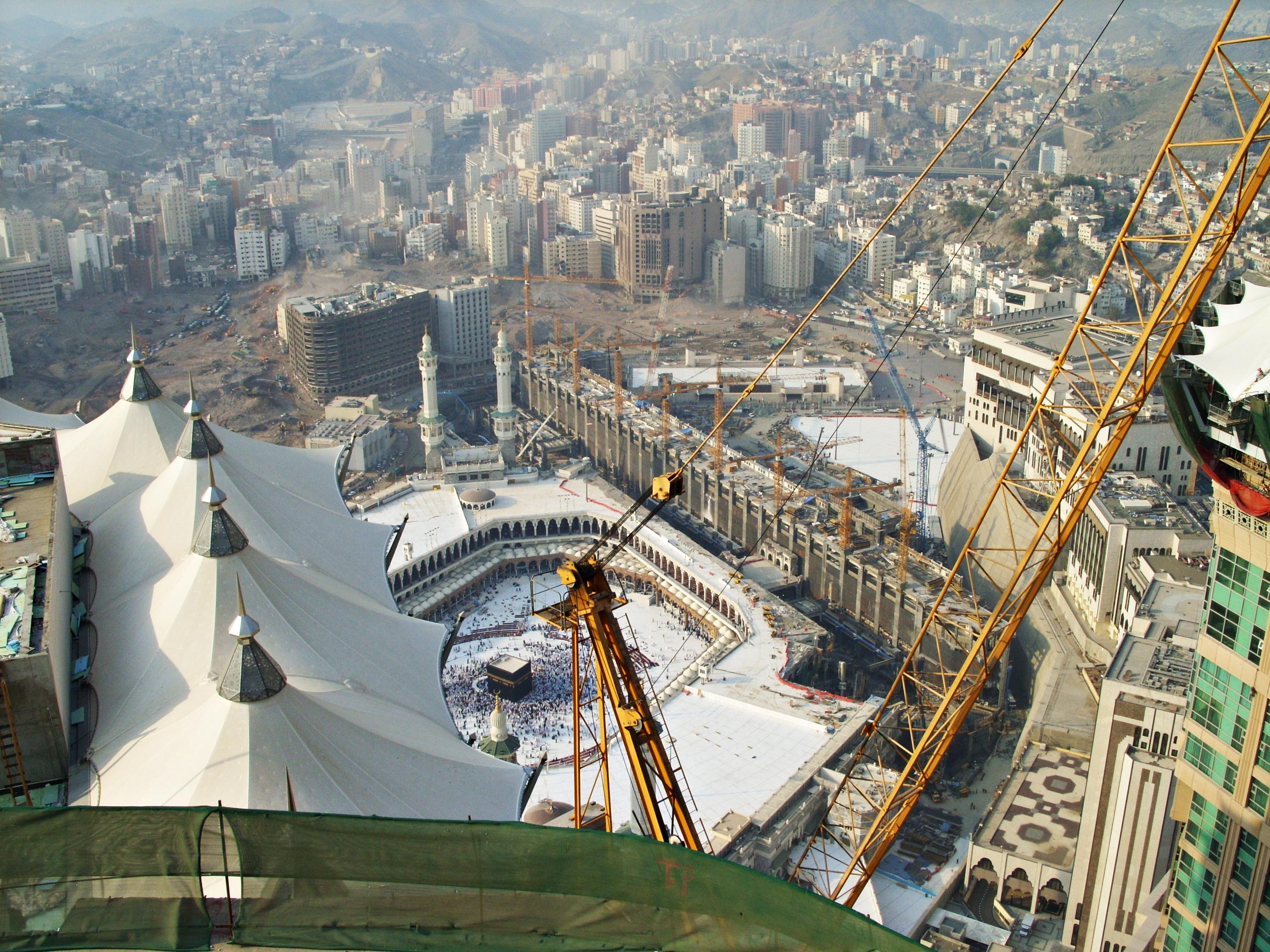 Description Mecca, Saudi Arabic from Abraj Al-Bait.jpg
