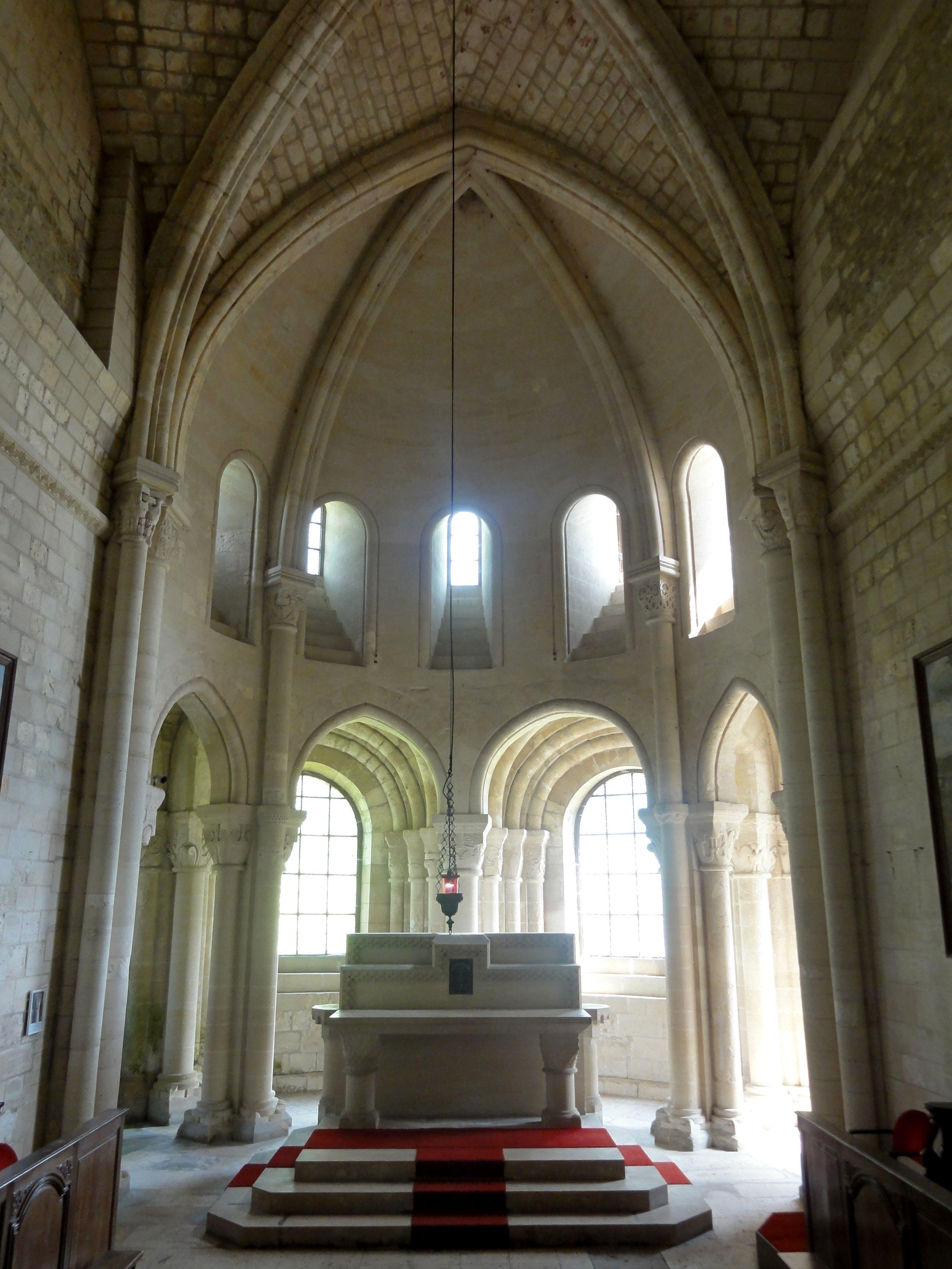 File Morienval 60 233 Glise Notre Dame Abside 2 Jpg