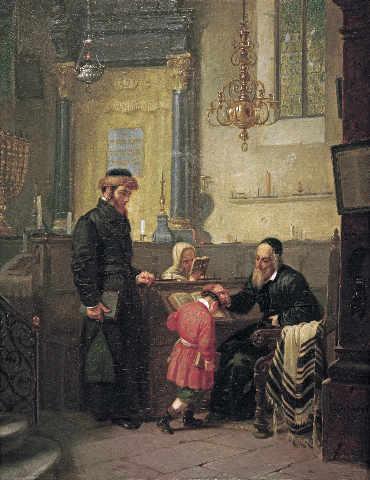 File:Moritz Daniel Oppenheim Der Segen des Rabbi.jpg