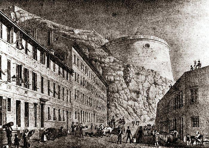 Peinture de Barberi - Date: 1837