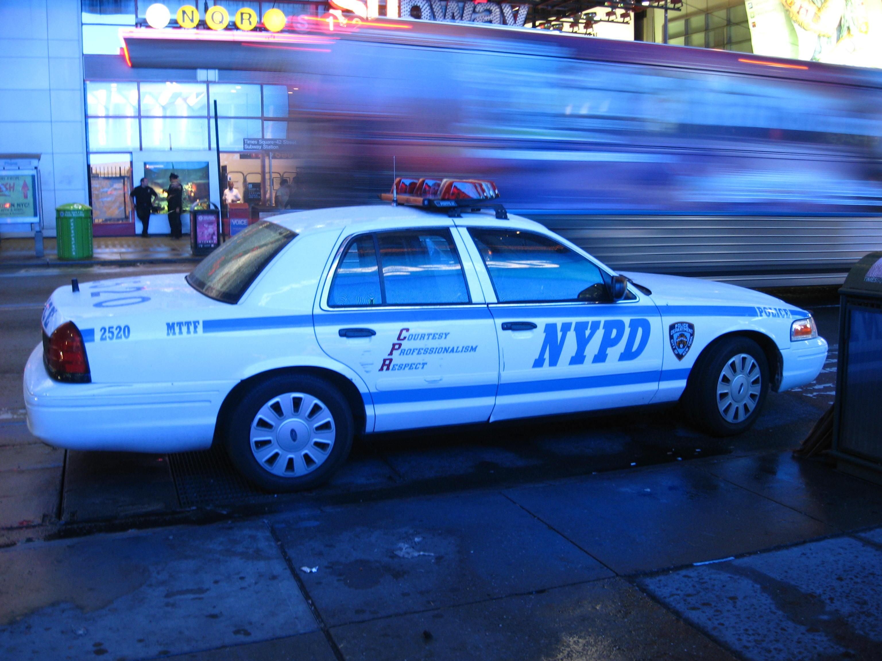 New York Police Car Accident Report