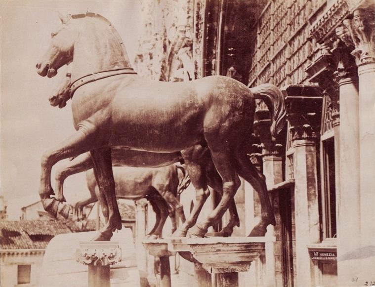 Naya, Carlo (1816-1882) - n. 047 - Venezia - Cavalli di S. Marco